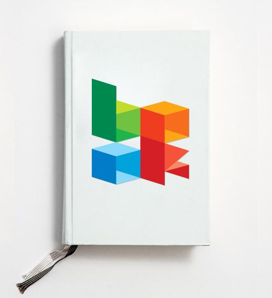 Cube font 1