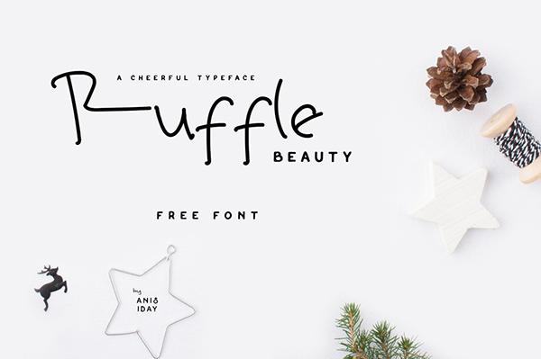 Ruffle Beauty1