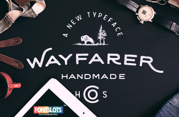 Wayfarer - Hand Drawn Font
