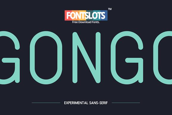 Gongo Typeface