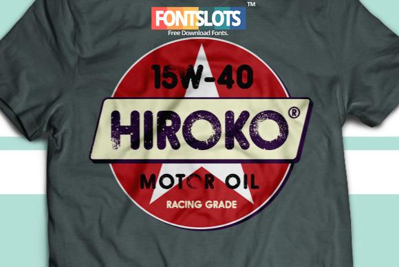 Hiroko Typeface