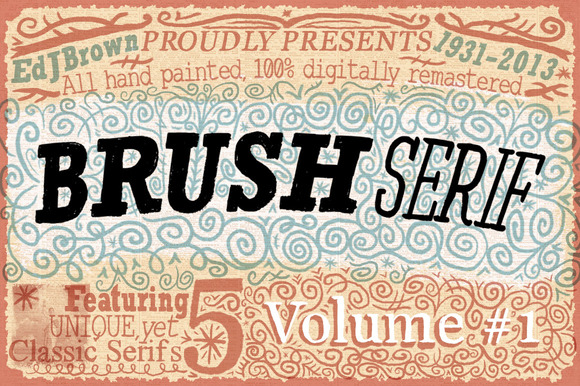 Brush Serif 3