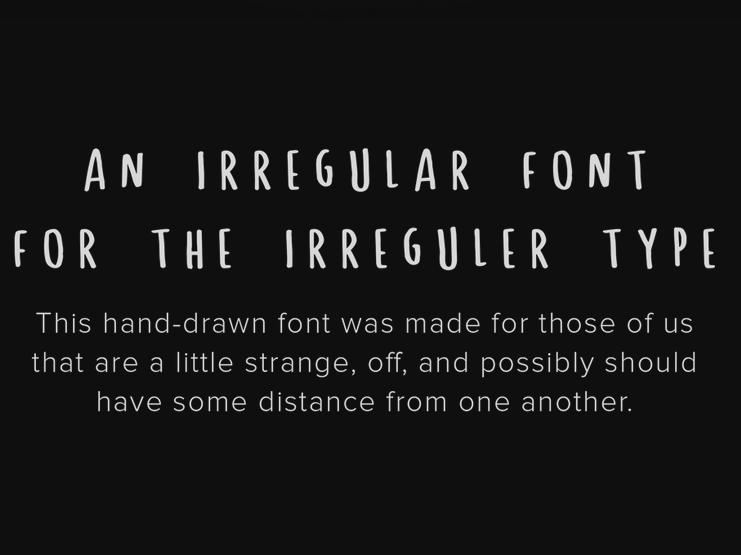 Spastic - Free Font 1