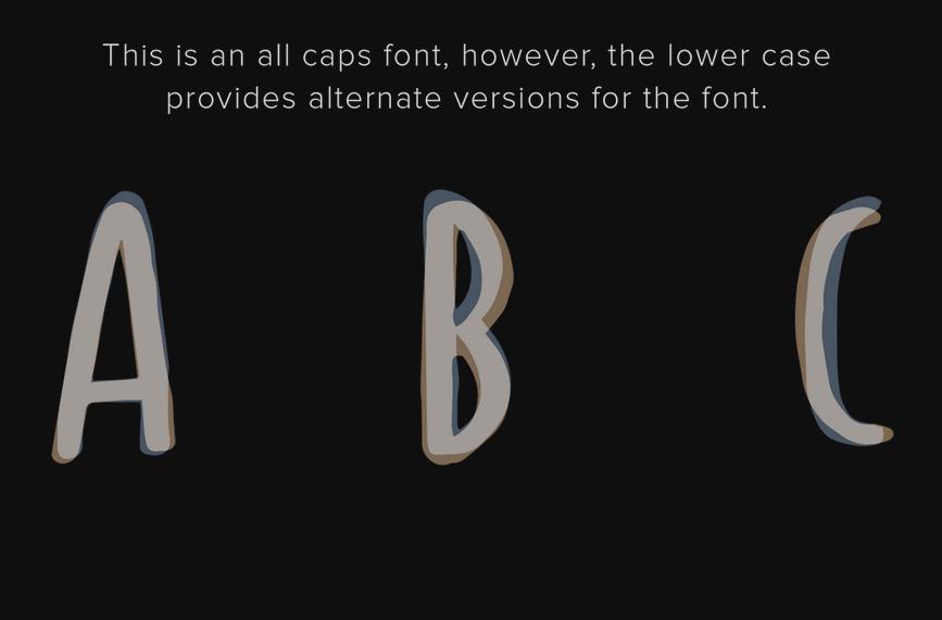 Spastic - Free Font 3