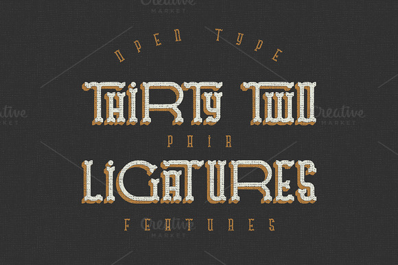 Traveller typeface 2