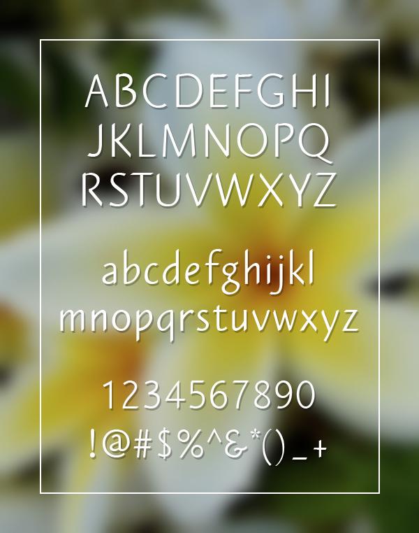 Plumeria Sans1