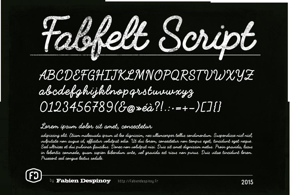 Fabfelt script 1