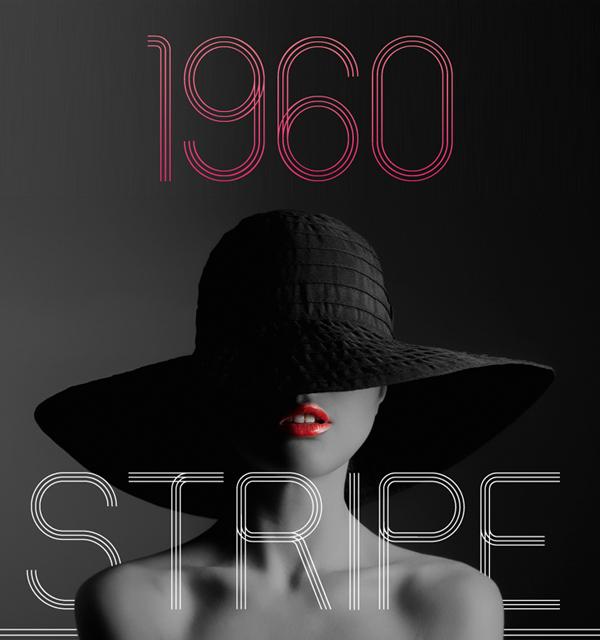 60s stripe